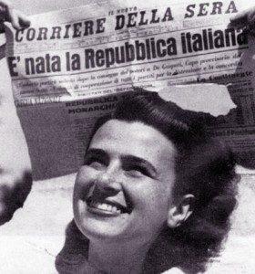 2 giugno 1946: nasce la nostra Repubblica. Buon compleanno Italia!