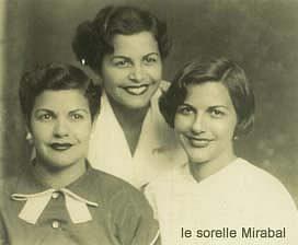Le sorelle Mirabal: Patria, Minerva e Mariateresa