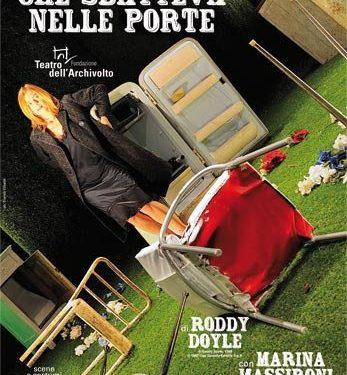 """""""La donna che sbatteva nelle porte"""" di Roddy Doyle recitato da Marina Massironi"""