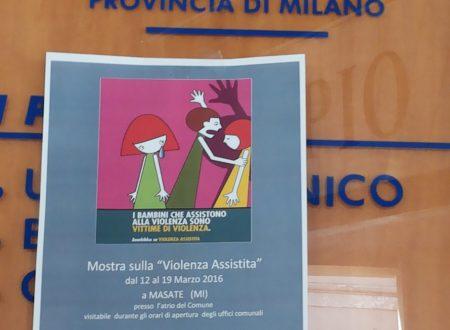 """I Comuni di BASIANO e MASATE ospitano la mostra sulla """"Violenza Assistita"""""""
