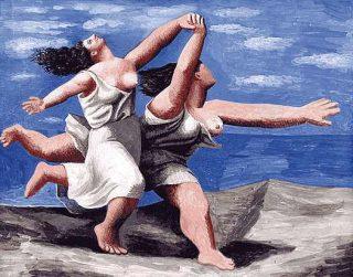 """Picasso """"La corsa"""""""
