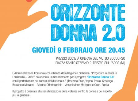 """""""ORIZZONTE DONNA 2.0"""" un progetto per il rispetto"""