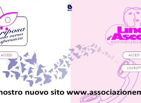 """NUOVO SITO per Associazione """"Mariposa"""" e """"Linea d'Ascolto"""""""
