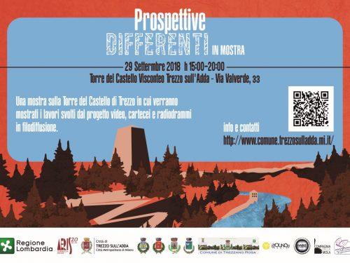 """""""PROSPETTIVE DIFFERENTI"""" alla Torre del Castello Sabato 29 settembre ore 15.00"""