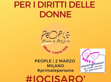 Mariposa aderisce a People, la marcia del 2 marzo a Milano