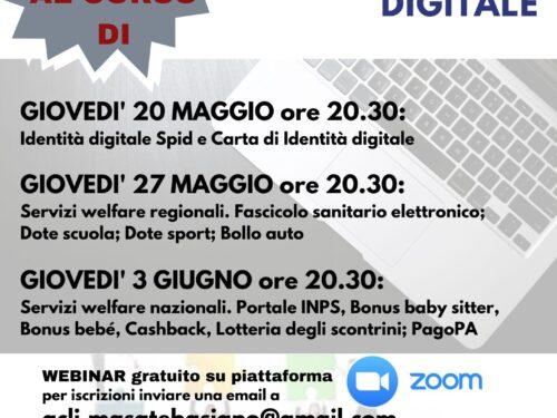 """Invito al Corso di """"CITTADINANZA DIGITALE"""" (Progetto ESERCIZI DI CITTADINANZA)"""