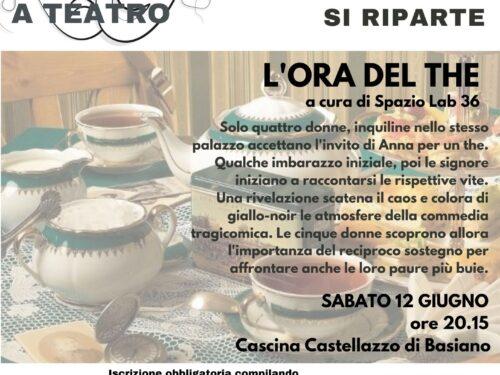 """""""L'ORA DEL THE"""" spettacolo teatrale nel progetto ESERCIZI DI CITTADINANZA"""