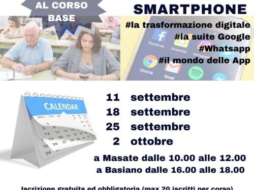 """Invito al Corso base #UTILIZZO SMARTPHONE (Progetto """"Esercizi di Cittadinanza"""")"""