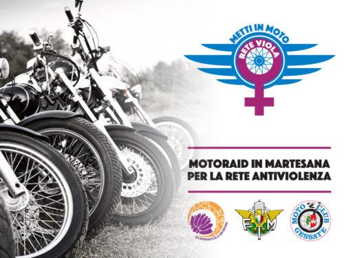 #MettiInMotoReteViola – Moto Raid in Martesana domenica 26 settembre 2021