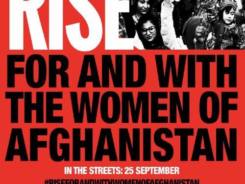 ALZATI PER E CON LE DONNE AFGHANE – Unisciti al nostro flash mob il 25 settembre Ore 10 a Inzago (MI)
